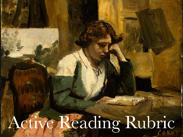Active Reading Rubric
