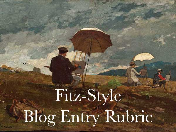 Fitz-Style Blog Entry Rubric
