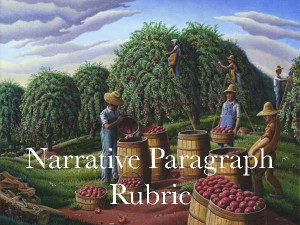 Narrative-Paragraph-Rubric