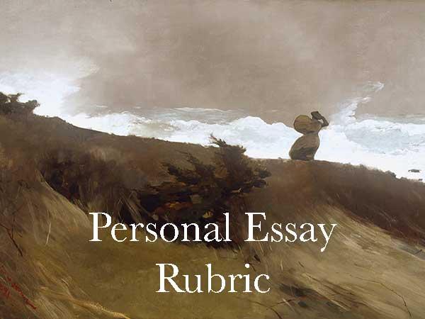 Narrative Essay Rubric | The Crafted Word