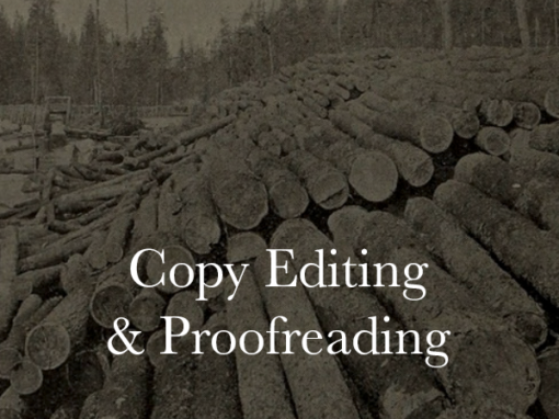 Copy Editing & Proofreading